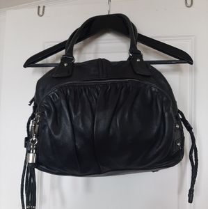 100% Authentic Black Leather Purse
